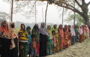 Kishoreganj (Peasants' Human Chain)-02-03-15