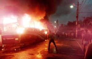 rajshahi photo file 2 (bus fire) 01 march