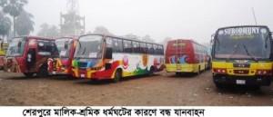 Sherpur_Bus-Strike_Pic