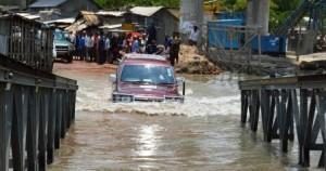 german ambassador car crossing water