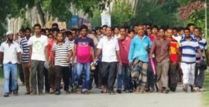 mongla protest