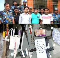 borgra arms recovered