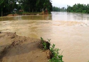 flash flood in Nalitabari