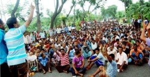 khulna alim jute mill workers protest