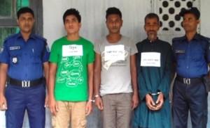 drug traders arrested in netrakona