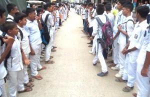 Kishoreganj protest over student death