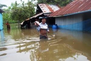 bagerhat village submerged