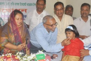 de-worming campaign in khulna