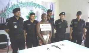 khulna top terror babu gain arrest