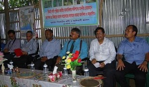 national human rights commission chairman at Jhimai