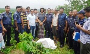 sherpur child deadbody recovered