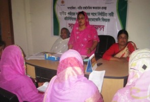 women member press conference