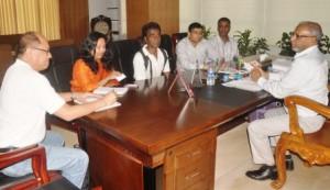 UNDP team meets KCC mayor