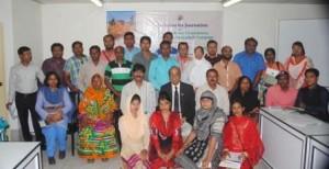journalists' orientation on women farmers issues in Barisal