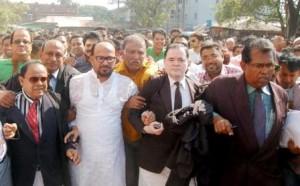 bnp leader monju sent to jail
