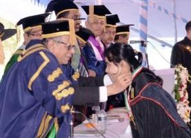 president mohammad abdul hamid in khulna university