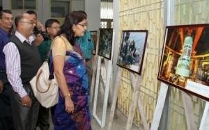 photo exhibition on nuclear energy at ishwardi