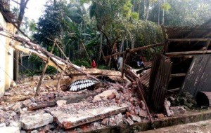 Raipur school teacher house rampaged
