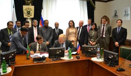 credit agreement between bangladesh and russia over rooppur