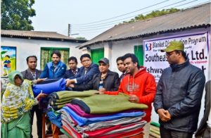 Isswardi cloth distribution among poor
