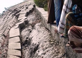 Satkhira Kapotakho river eresion